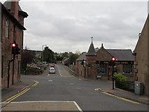 NS5521 : Auchinleck - Church Hill crossroads by Peter Whatley