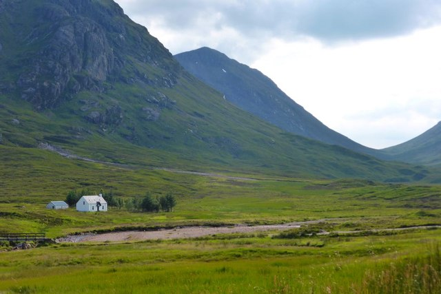 Glen Coe, view to Lagangarbh