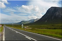 NN2256 : Glen Coe, view to the east by Robert Murray