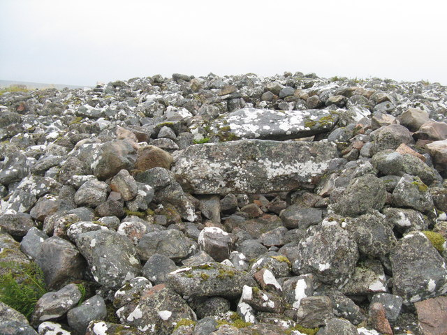 Entrance to Ord North Chambered Cairn