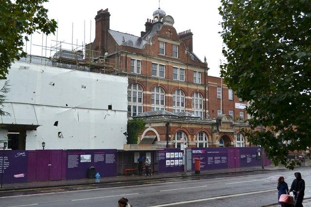 Walworth Town Hall site and Newington Library, Walworth Road, Walworth, London
