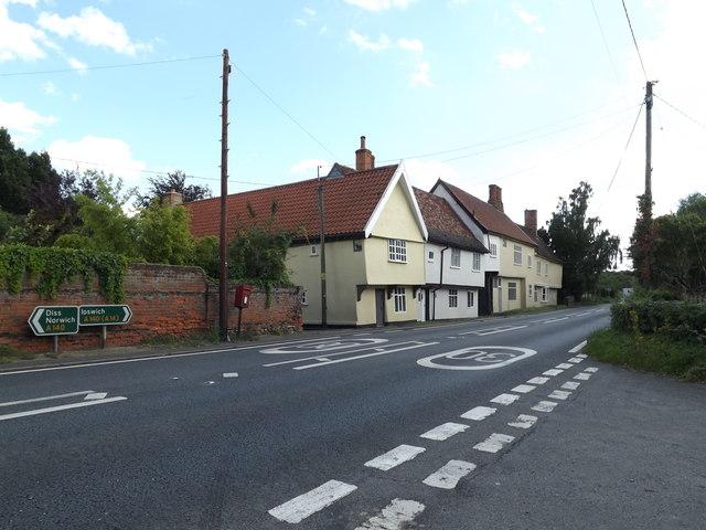 A140 The Street, Brockford Street