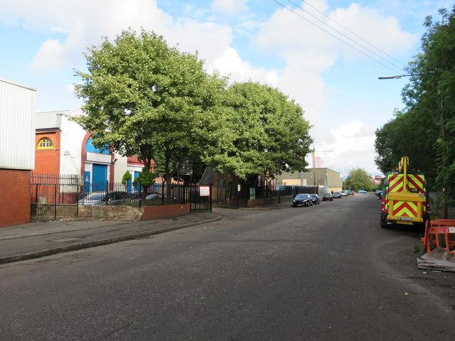 Kinning Park - Scotland Street West