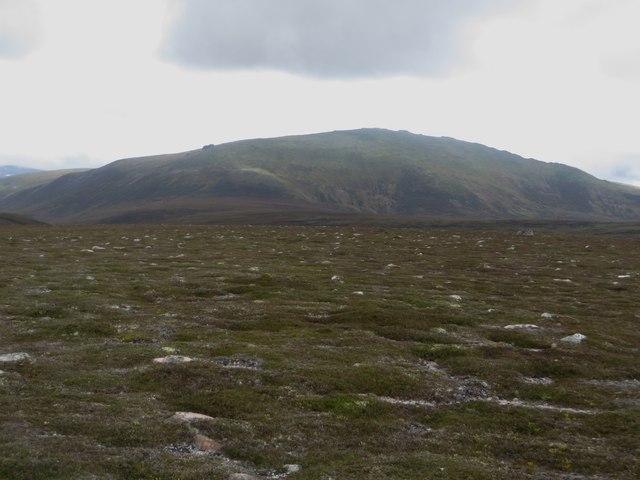 Gently sloping upland landscape