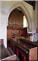 TL5249 : St Mary, Little Abington - Organ by John Salmon