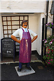 SX2051 : Polperro butcher ? by Richard Croft