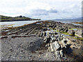V9044 : Rocky shoreline at Gerahies by Oliver Dixon