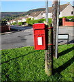 SO2605 : Queen Elizabeth II postbox on a post, Varteg by Jaggery