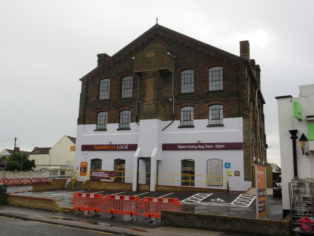 Nearly completed Sainsbury's Local Gillingham