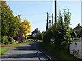 SO9645 : Part of Main Street, Wick, Pershore by Jeff Gogarty