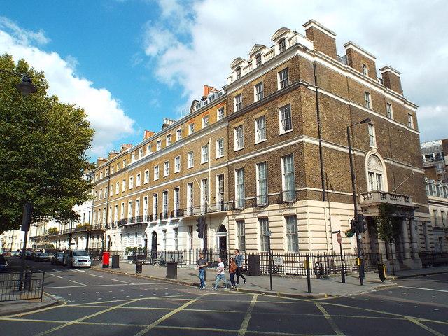 Portland Place, Central London