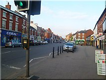 SK3516 : Market Street, Ashby de-la Zouch by Oliver Mills