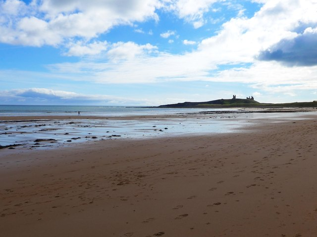 The beach at Dunstan Steads