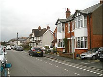 SP2871 : East on Queen's Road, Kenilworth: south side by Robin Stott