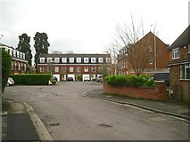 SP2871 : The south end of Regency Drive, off Queen's Road, Kenilworth by Robin Stott