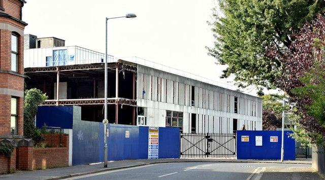 Former science library, Queen's University, Belfast (September 2015)