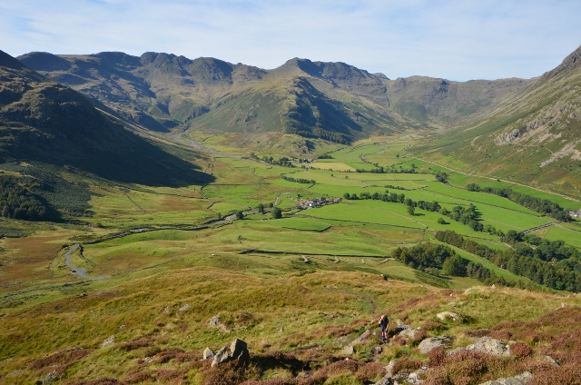 Crinkle Crags from Side Pike
