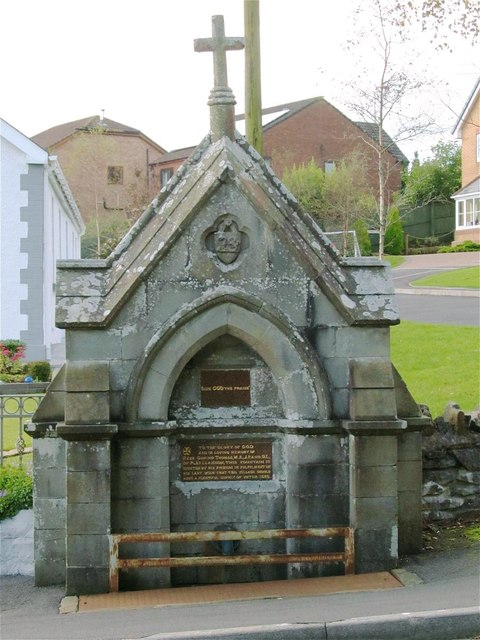 Drinking Fountain in Llannon