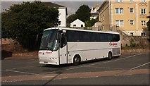 SX9164 : Coach, Torquay coach station by Derek Harper