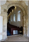 TQ1605 : Sompting - St Mary's - Arch between tower and nave by Rob Farrow