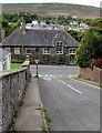 SO2508 : Steep descent to Cwmavon Road, Blaenavon by Jaggery