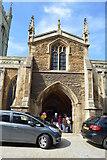 TL1998 : Entrance, Parish Church of St John the Baptist by N Chadwick