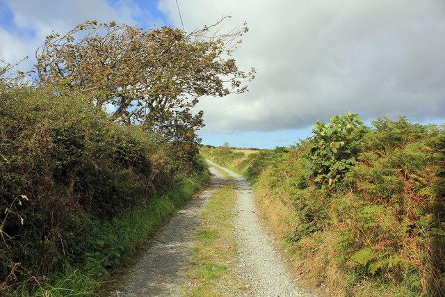 The Anglesey Coastal Path at Llangwyfan-isaf