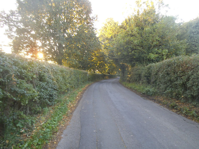 Entering Wiltshire on Leverton Lane