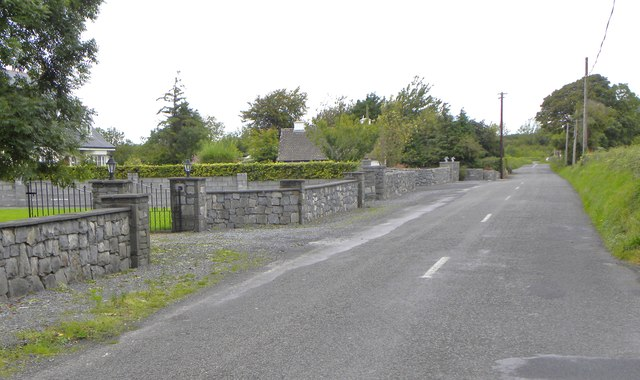 Country road at Aughrim