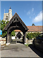 TQ5793 : St. Peter's Church Lych Gate by Adrian Cable