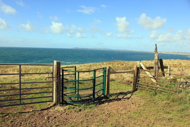Kissing Gate on the Anglesey Coastal Path