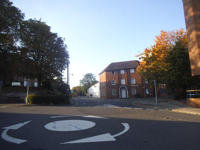 Roundabout on Oxford Street, Speenhamland