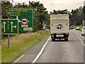 TF6520 : Queen Elizabeth Way (Southbound) near to Gaywood by David Dixon