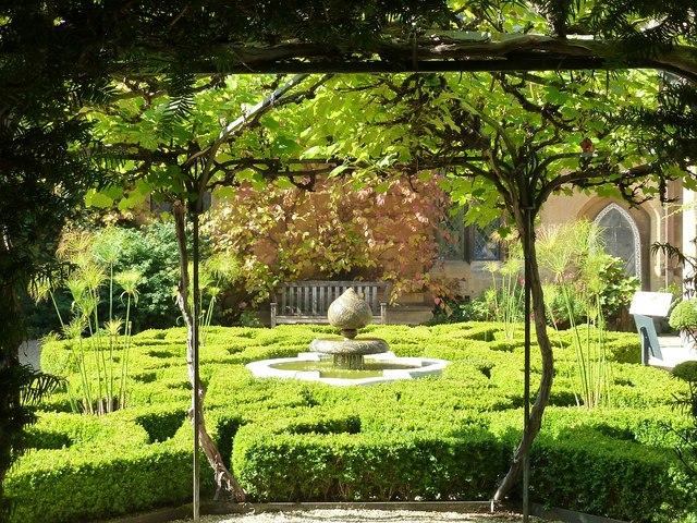 Sudeley Castle - Knot Garden - looking westwards