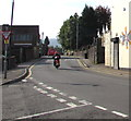 SO2603 : Junction Give Way sign, Abersychan by Jaggery