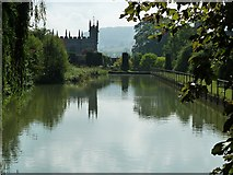 SP0327 : Sudeley Castle - view to St Mary's church by Rob Farrow