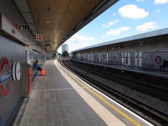 Wood Lane Underground Station