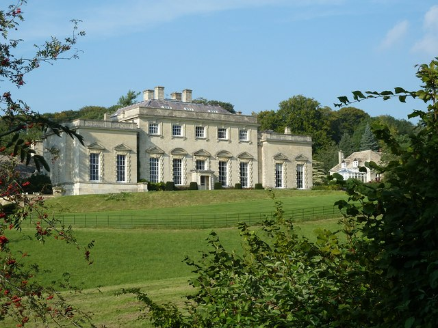 Painswick House from the Rococo Gardens
