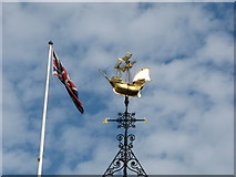 TQ3180 : Santa Maria weather vane, Two Temple Place by David Hawgood