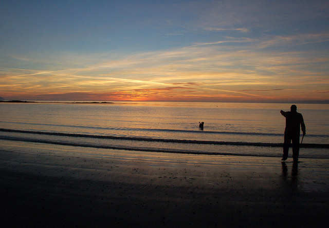 Maidens Sunset Scene
