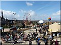ST3160 : Dismaland - Visitors enjoying a dismal time by Rob Farrow