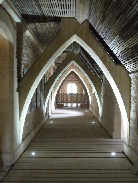 Woodchester Mansion - Second floor corridor