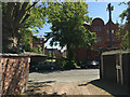 SP3165 : The view across York Road from a private road to the rear, Royal Leamington Spa by Robin Stott