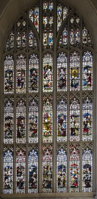 West window, Bath Abbey