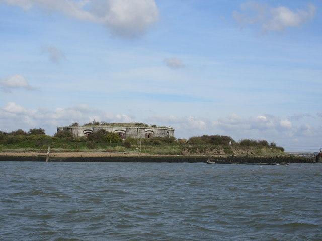 Hoo Fort in River Medway