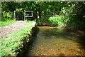 SW8666 : Retorrick Mill Ford by John Walton