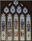 ST7564 : Stained glass window, Bath Abbey by J.Hannan-Briggs