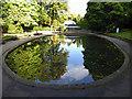 SE2955 : Model boating lake reflections by Steve  Fareham