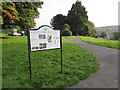 SO2603 : Information board in Glansychan Park, Abersychan by Jaggery