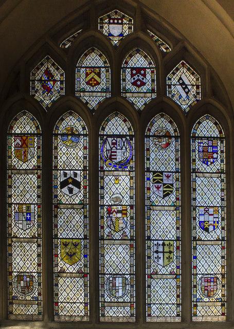 Benefactors window, Bath Abbey